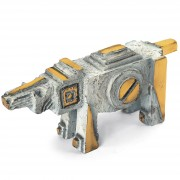 Horse n.7 - Bronze, lost wax casting - h 4x3x10 in - 2008