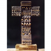 Cross n.2 - Bronze, lost wax casting - h 12,2 in - 2000