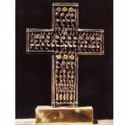 Cross n.3 - Bronze, lost wax casting - h 11,03 in - 2000