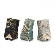 Owls n.11 - Bronze, lost wax casting - h 5 in - 2013