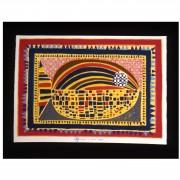 Il Pesce - Serigrafia h 50x70 cm - 1997