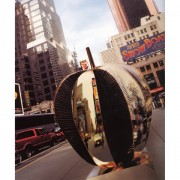 The big apple in section - Bronze, lost wax casting - h 17 in x ø 18 in - 1998