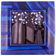 Homage to Morandi n.33 - Multi-Thickness wood, tempera, acrylics - 11x11 in - 1991