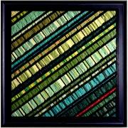 Birth of the Sun n.17 - Vitreous enamel mosaic - 39,4x39,4 in - 1995