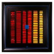Birth of the Sun n.2 - Vitreous enamel mosaic - h 17x17 in - 1994