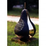 Pear n.1 - Bronze, lost wax casting - h 17,4 in - 1997