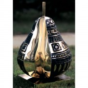 Pear n.2 - Bronze, lost wax casting - h 17,4 in - 1997