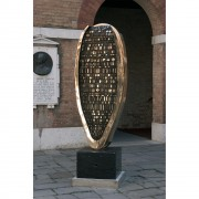 Barley Seed - Bronze, lost wax casting - 33x12x79 in - 2001