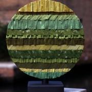 Sun n.6 - A Side - Vitreous enamel mosaic - ⌀ 15,5 in - 1998