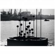 Harmonic Waterlily- Steal, aluminum- Ø 307,87 in - 1986