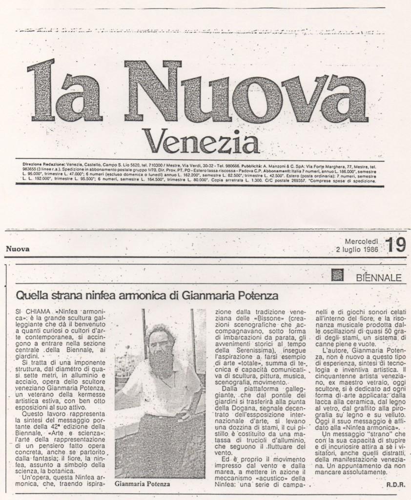 La nuova venezia ninfea armonica 7