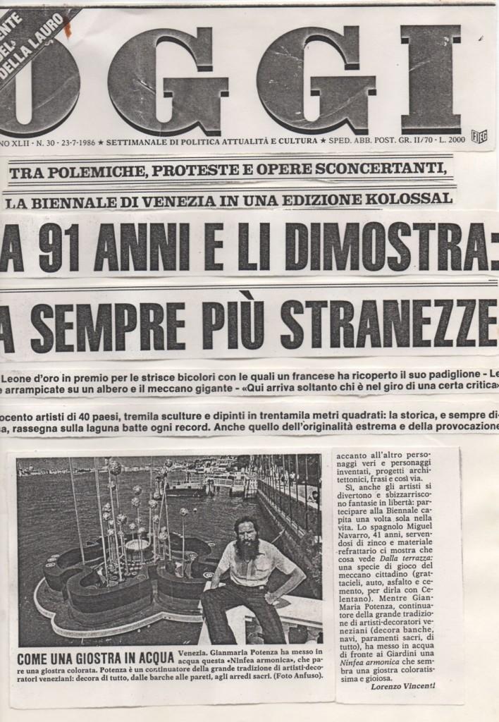 ninfea armonica Oggi 23-07-1986 4