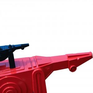 Cavallo Rosso con Puledro Nero - Dettaglio
