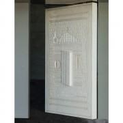 Door - Trani stone - 71x5x95 in - 2015 - Maria Immacolata Church, Pedara (CT)