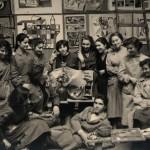 Gianmaria Potenza alla Scuola d'Arte di Venezia, 1955 ca