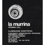 """Catalogo """"la murrina"""" 1968 ca"""